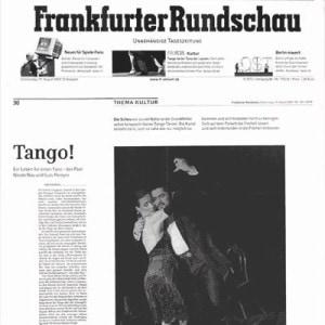 4 Seitiges Portrait Frankfurter Rundschau - Eine Liebeserklärung an Argentinien, sein Land und seine Leute, 2004