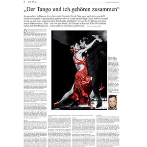 Ironically, in Argentina has managed a German right to the top - The Tango and I belong together, KN Journal, 2015