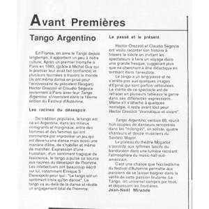 Avant Premieres Paris