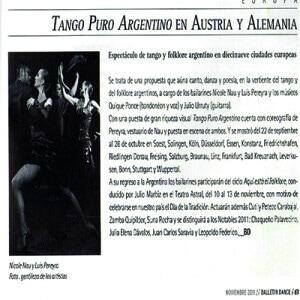 Balletin Dance, 2011