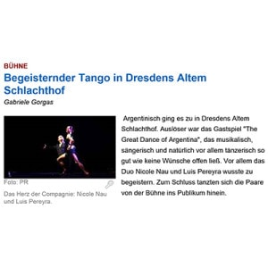 Begeisternder Tango, 2014