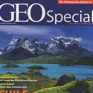Reportaje en Geo Special, 2006 Performance fantástica de Nicole Nau & Luis Pereyra