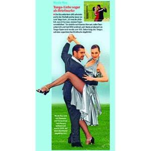 Tango Liebe sogar als Briefmarke, Bild der Frau, 2, 2013