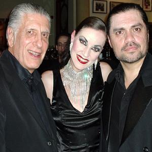 Claudio Segovia, Nicole Nau, Luis Pereyra