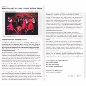 Nau Pereyra zeigen wahren Tango, Coolibri, 2013