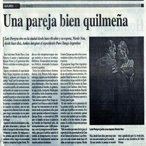 Das Paar aus Quilmes, El Sol, 2011