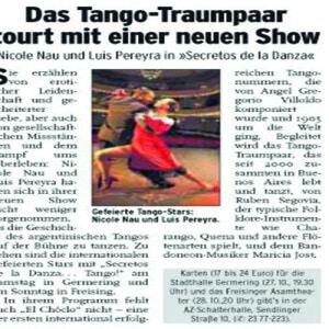 Das Tango Traumpaar tourt mit einer neuen Show, 2007