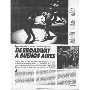 De Broadway a Buenos Aires
