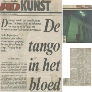 De Tango en het blood, Algemein Tagblatt