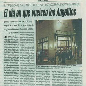 El día en que vuelven los Angeles, Página 12, 2007