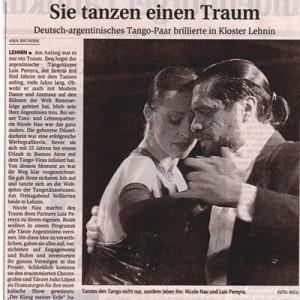 Deutsch argentinisches Paar brilliert, Kloster Lehnin 2006