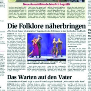 Die Folklore näher bringen, 2007