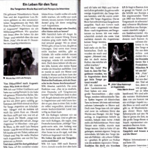 A Life for the Dance, magazine Munich, 2015