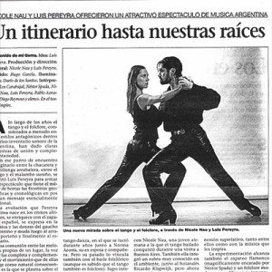 Un itirinario hasta nuestras raíces, la Prensa 2004