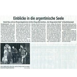Einblicke in die argentinische Seele, 2013