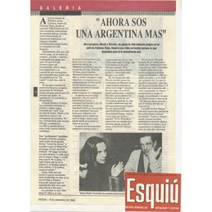 Esquiú, jetzt bist Du eine Argentinierin mehr