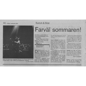 Farväl sommeren Schweden