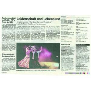 Feurige Leidenschaft, tiefe Melnancholie, pure Lebenslust. Kölner Rundschau, 2013