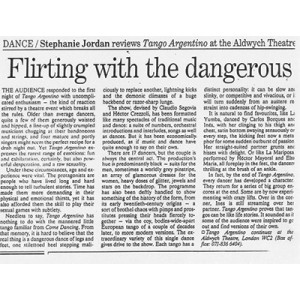 Flirting with the dangerous