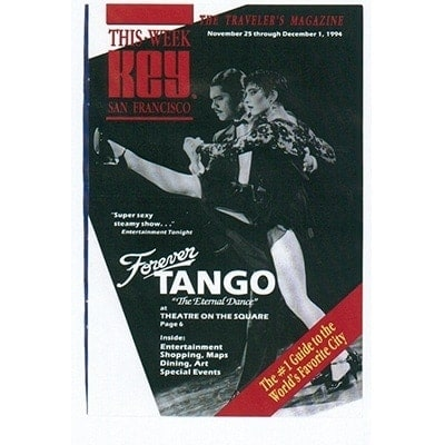 Forever Tango, Title Newspaper