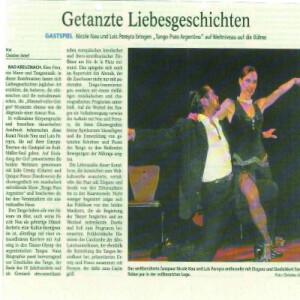 Getanzte Liebesgeschichten, Eleganz und Erotik von den Zehenspitzen bis zu den Haarwurzeln, 2008