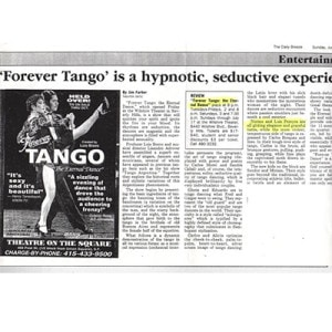 Hypnotisch und verführerisch, USA The Daily Press