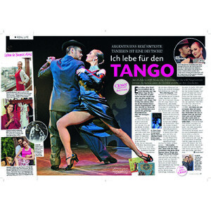 Vivo para el Tango, CLOSER Revista 2013