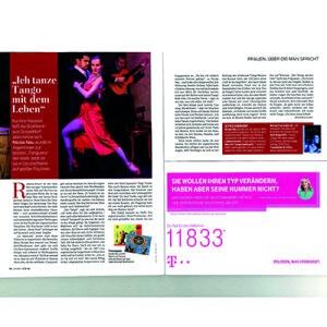 Ich tanze Tango mit dem Leben, Für Sie, 2013