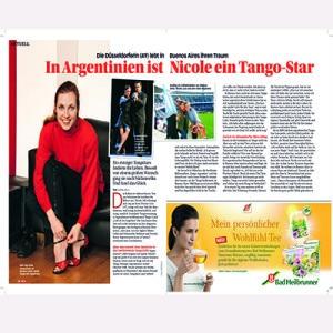 In Argentinien ist Nicole ein Star, Tina 2012