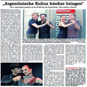 Interview. Argentinische Kultur. 2011