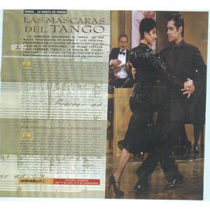 Die Masken des Tango, Argentinien. Tango Danza de Fuego, Show von Luis Pereyra, 1998
