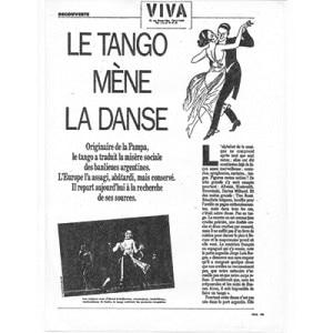 Le Tango méne la danse, Paris