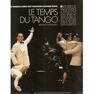 Le temps du Tango, Paris