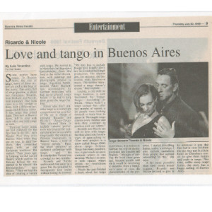 Love and Tango in Buenos Aires