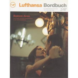 Lufthansa Bordbuch, Titelseite