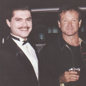 Luis Pereyra & Robin Williams