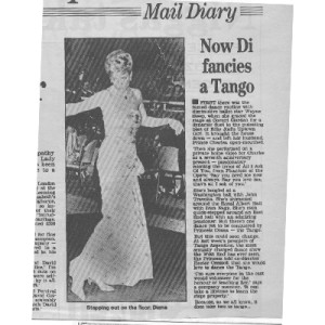 Mail Diary, Lady Di