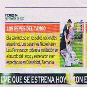 Die Könige des Tango, Mallorca Zeitung, 2007