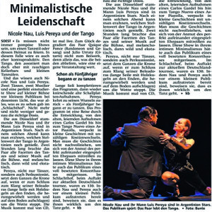 Minimalistische Leidenschaft, 2011
