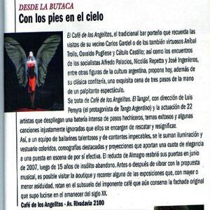 Mit den Füssen im Himmel, 2007 Buenos Aires