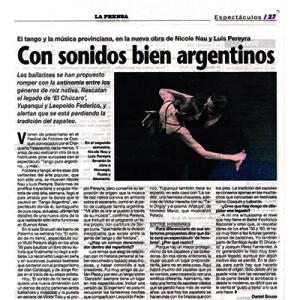 Mit wahrhaftig argentinischen Klängen, 2013