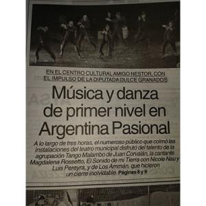 Musik und Tanz auf höchstem Niveau, 2014