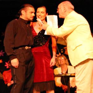 Nicole Nau & Luis Pereyra und Alfred Biolek