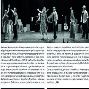 Nie suchen sie den leichten Applaus, begeistern ihr Publikum auf ganzer Linie, Buenos Aires 2012
