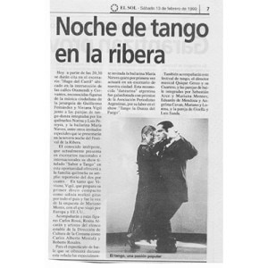 Tango Night in Ribera