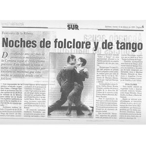 Night of Tango and Folklore