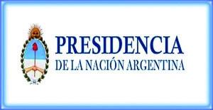 PRESIDENCIA DE LA NACION