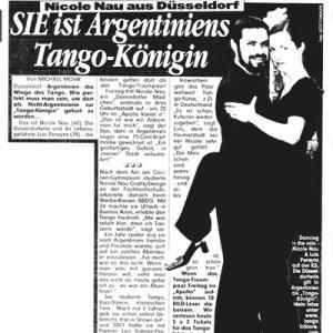 Sie ist Argentiniens Tango Königin, BILD 2005