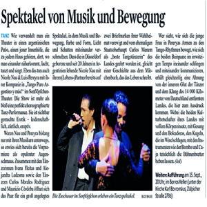 Spektakel von Musik und Bewegung, 2011