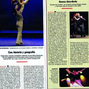 Subtile Plastizität, ihre Linie zählt zu den absulut besten. 4 Sterne von Noticias, 2008